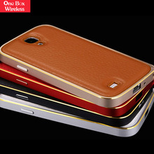 Gold Supplier Soft Back + Clear Hard PC Hybrid Bumper Protective Case Covers for Samsung Galaxy S4