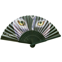 black bamboo ribs folding paper fan with custom printing