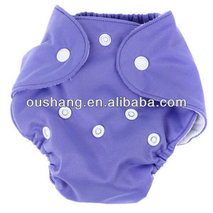 PUL Plain color one row snaps Newborn Cloth Diaper ,Reusable cloth diapers .baby dipers in bales ,diaper baby