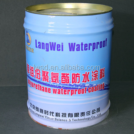 Polymer Waterproof Roof Coating One Component Polyurethane Waterproof Coating