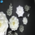Artificial Coloful Giant Stem Foam Paper Flower With Stand Backdrop For Window Show
