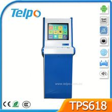 Telpo TPS618 Telecommunications Kiosk Reporting With Color Display