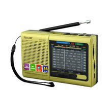 am fm sw 1-7band old type portable radio