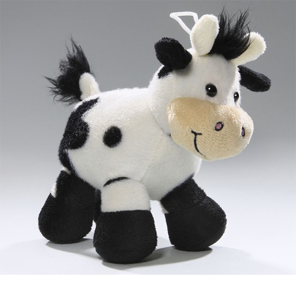 high quality cute milka cow plush toys for baby gift or decoration