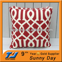 outdoor fashion decor printed garden back cushion 18x18inch