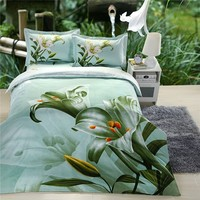 china wholesale 3d duvet cover sets with embroidery designs for baby crib
