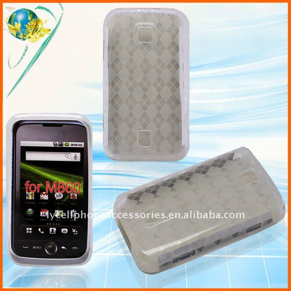 For HuaWei Ascend M860 CHECKER tpu cell phone case