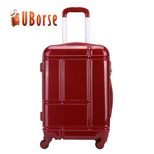"Light Weight Trolley Suitcase,Good Quality 4pcs 12'' 20"" 24"" 28"" Travel Luggage Set,Hard Shell Trendy ABS PC Trolley Luggage"