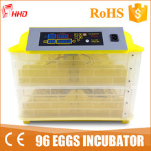 12v or 110v or 220v full automatic 96 eggs mini broiler chicken hatching eggs for sale