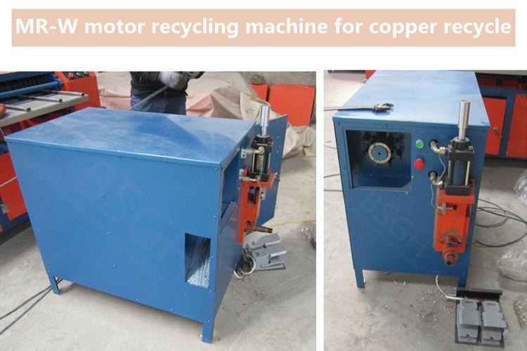 Mr W Scrap Metal Motor Separating Machine Stator Cutting Machine Rotor Pulling Equipment Buy
