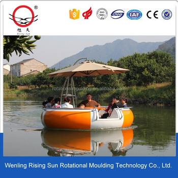 customized plastic boat toy mould