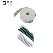 Chinese Industrial L Type Round Pu Synchronous/Timing Belt With Green Teeth Cloth For Machine
