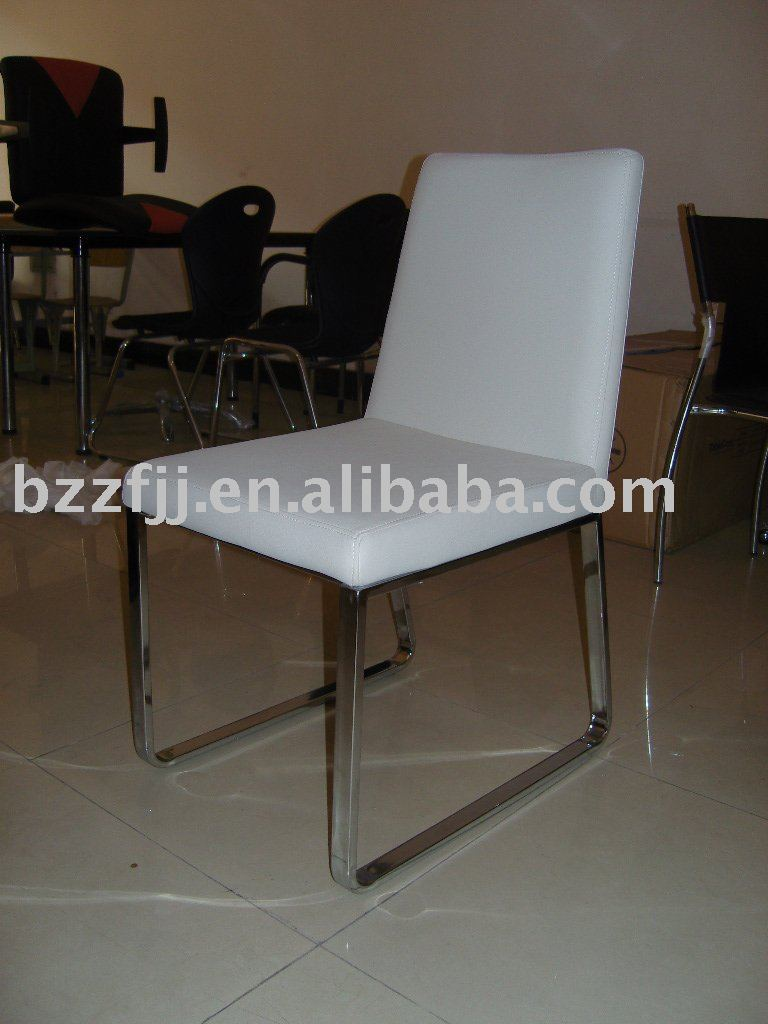 white metal dining chair/restaurant table