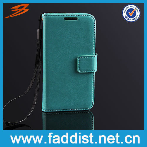 Sky Blue for Samsung Galaxy s4 mini Flip Cover