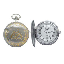 Gold Anutique Metal Music Pocket watch