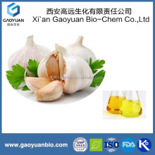 Natural Extract Garlic Oil 98%, Yellow to Orange Color Liquid, 100% Natural Product