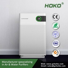 China wholesale high CADR hepa filter,negative ions air purifier home,for living room use