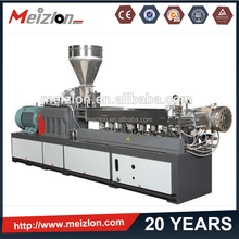 wood pellet machine twin screw extruder production line/waste recycling machine/hdpe washing machine