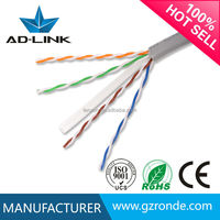 High Speed utp cat 6 lan cable with Cu/CCA Constructor In Guangzhou