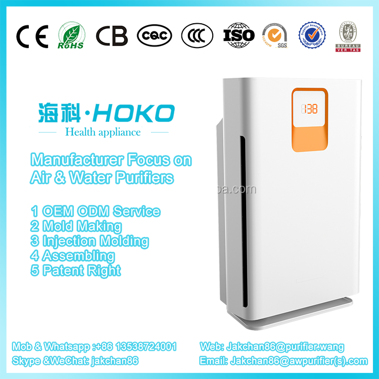 Factory Highly efficient Electronic Awpurifier CE certification Electrostatic air cleaning machine,air purifier