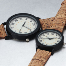 New Fashion Elegant Casual Women Men Lovers Couples Pu Leather Strap Wirst Watch