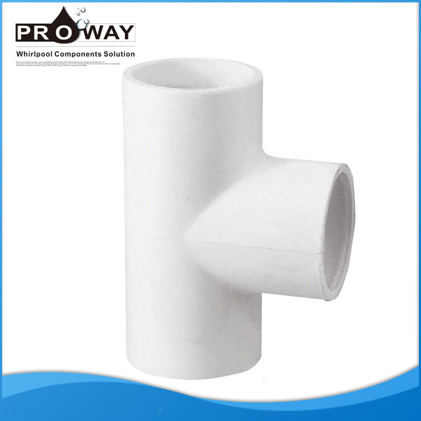 T-piece PVC Pipe Fitting For Hose Connection Pipe Transition Fittings