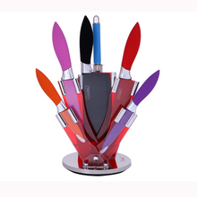 Non-stick coating kitchen stainless steel knife set