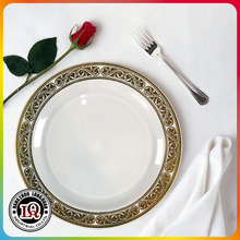 Plastic Dinner Charger Plate