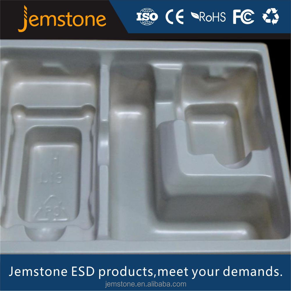PP vacuum forming plastic transparent blister packaging tray