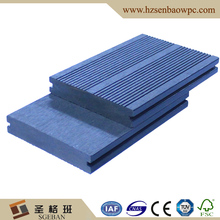 Senbao resistant fire Dark Gray Solid Outdoor WPC Wood-Plastic Composite Decking Boards