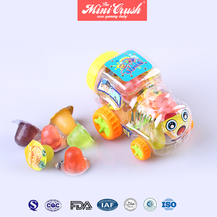 Assorted Fruit Flavour Jelly Pudding