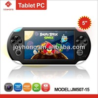 Portable media player entertainment device 5 inch game player