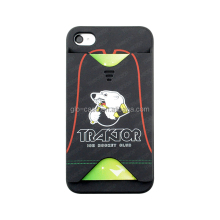 card slot case for iphone4s new product fashion design case for sublimation water transfer