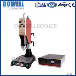 desk type ultrasound rotary plastic ultrasonic plastic buoy welding/making machine sealing welder
