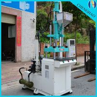 led base with rotary table ft-1200r2 vertical 2 station plastic injection molding machine