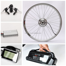 250W Kit Electrical Bicycle Disc Brake Electric Wheelchair Conversion Kit for Electric Bicycle Prices