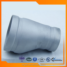 ASTM Standard stainless steel fittings bends grooved reducer