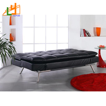 Wholesale Price Custom Multifunction Modern Black Genuine Leather Furniture Sofa Bed Parts