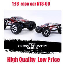 Off Road RC Truck 1:18 rc model 2.4G radio control 4WD RTR rc monster new Red