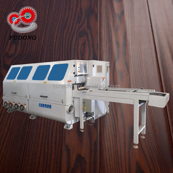 Automatic handscraped wood grain machine