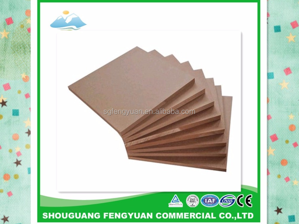 E1/E2 mdf sheet prices with different density from china manufacture