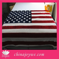 American Flag USA Couch Cover Flannel Fleece Bed Furniture Blanket United States