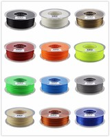 Best 3D filament 1.75mm and 3.0mm 3D printer filament PLA and ABS with transparent spool for 3D printing