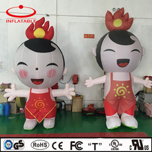 Inflatable chinese doll, inflatable little girl cartoon