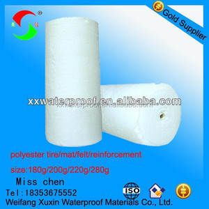 fiberglass reinforced polyester sheet for sbs app waterproof membrane