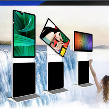 hot sale new design ' floor standing rotating screen digital signage with touch function