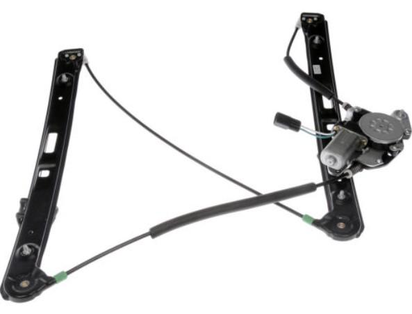 Front power window regulators w motors pair set new for b for 2001 bmw 330i window regulator