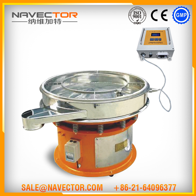Navector Rotary Vibrating Screen Separator For Tablets