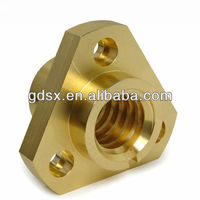 China Dongguan manufacturer high precision brass bronze copper triangle adjustable screw nut