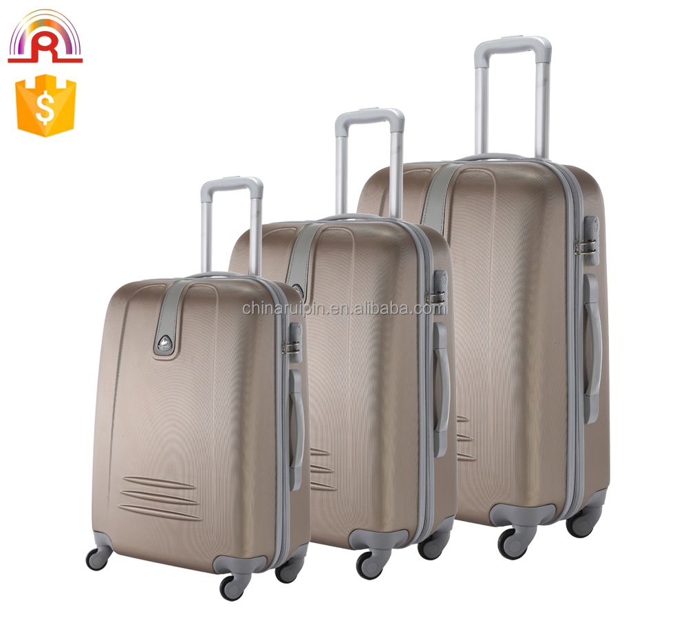 abs trolley luggage, hard suitcase,unisex suitcase